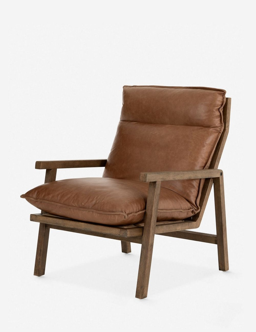 Rowena Leather Accent Chair in 2020 Leather accent chair