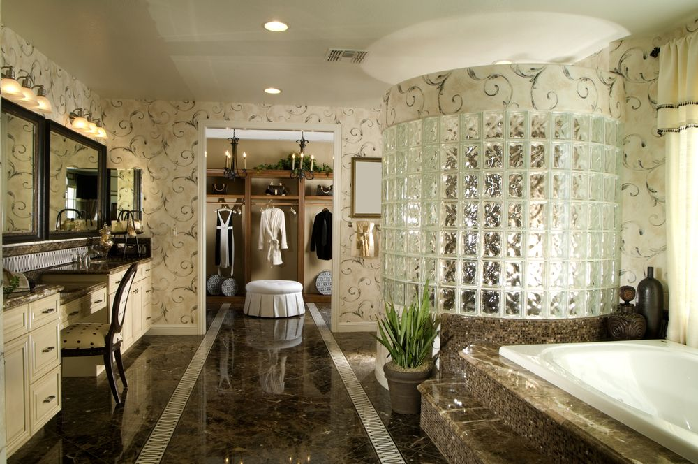 100+ Luxury Custom Master Bathroom Designs | Glasses, Walk In And
