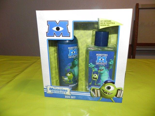Ref CDP021 Coffret Monster : gel douche + parfum. 10€