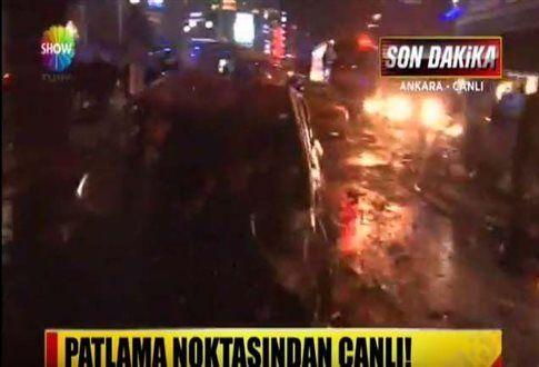 Νεκροί και τραυματίες από έκρηξη στην καρδιά της Άγκυρας ~ Geopolitics & Daily News