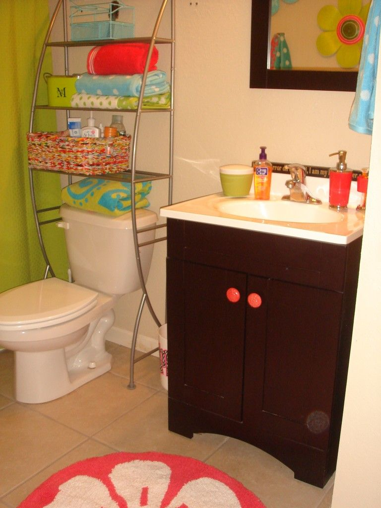 Alyssa Glasow We Could Potentially Add A Shelf Over Our Toilet Just An Idea  C B Bathroom Storagedorm