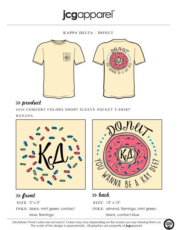 Kappadelta Kd Kappa Delta Shirts Kappa Delta Sorority Shirt