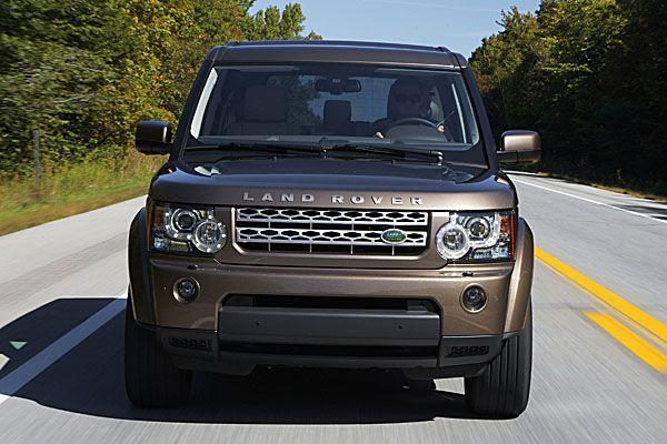 Land Rover Discovery 4 Brown L A N D R A N G E R O V E R