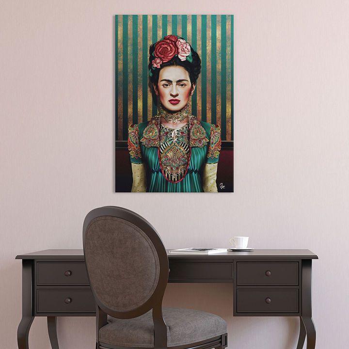 icanvas frida kahlo canvas art canvas art art gallery wall on icanvas wall art id=73686