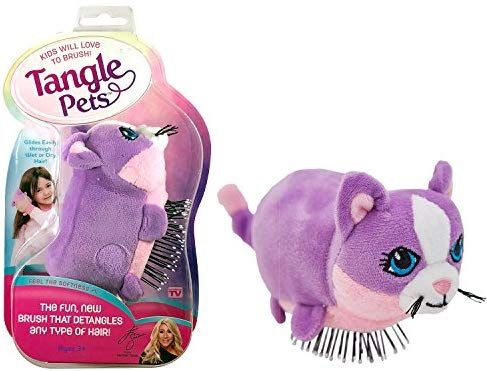 Tangle Pets CUPCAKE THE CAT The Detangling