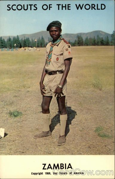 Scouts of the World: Zambia Boy Scouts
