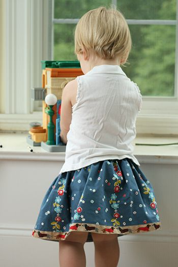 favorite ribbon project is Oliver + S's Lazy Days Skirt, a free pattern that uses ribbon to finish off the bottom of the skirt for a clean, ...