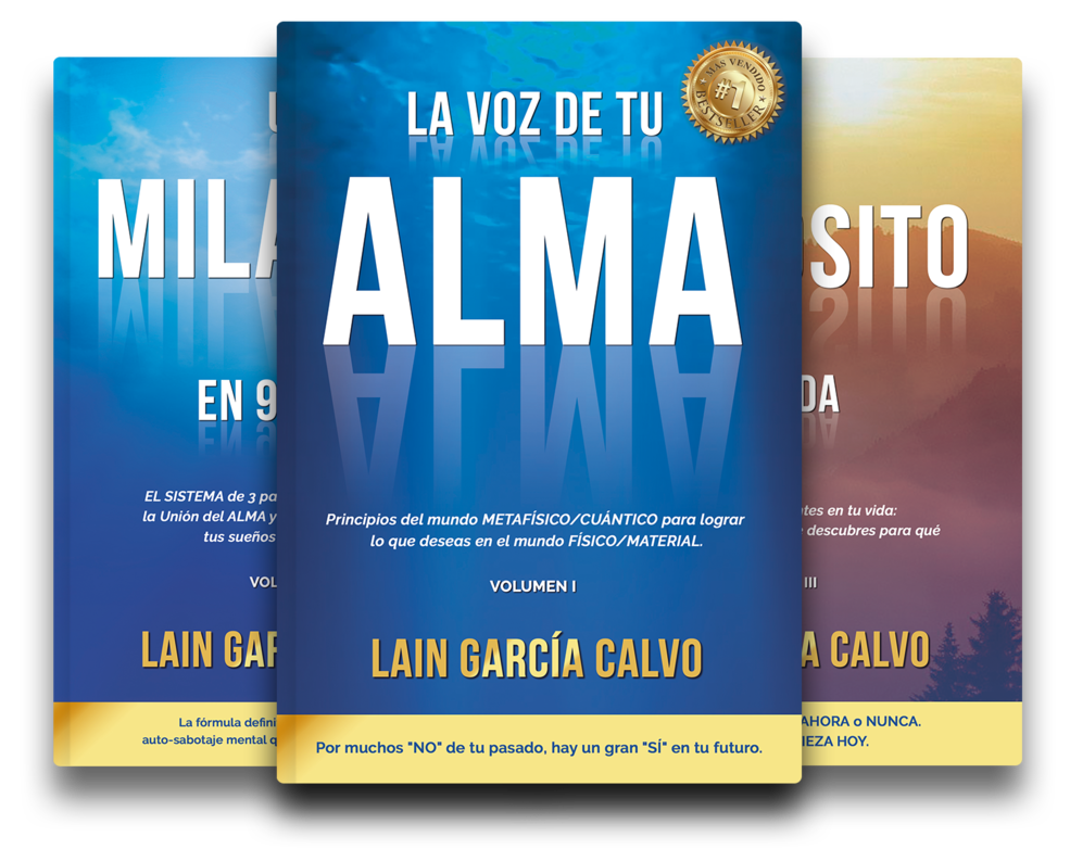 Libros De Lain Lain García Calvo Página Web Oficial Libros De Autoayuda Libros Como Atraer El Amor