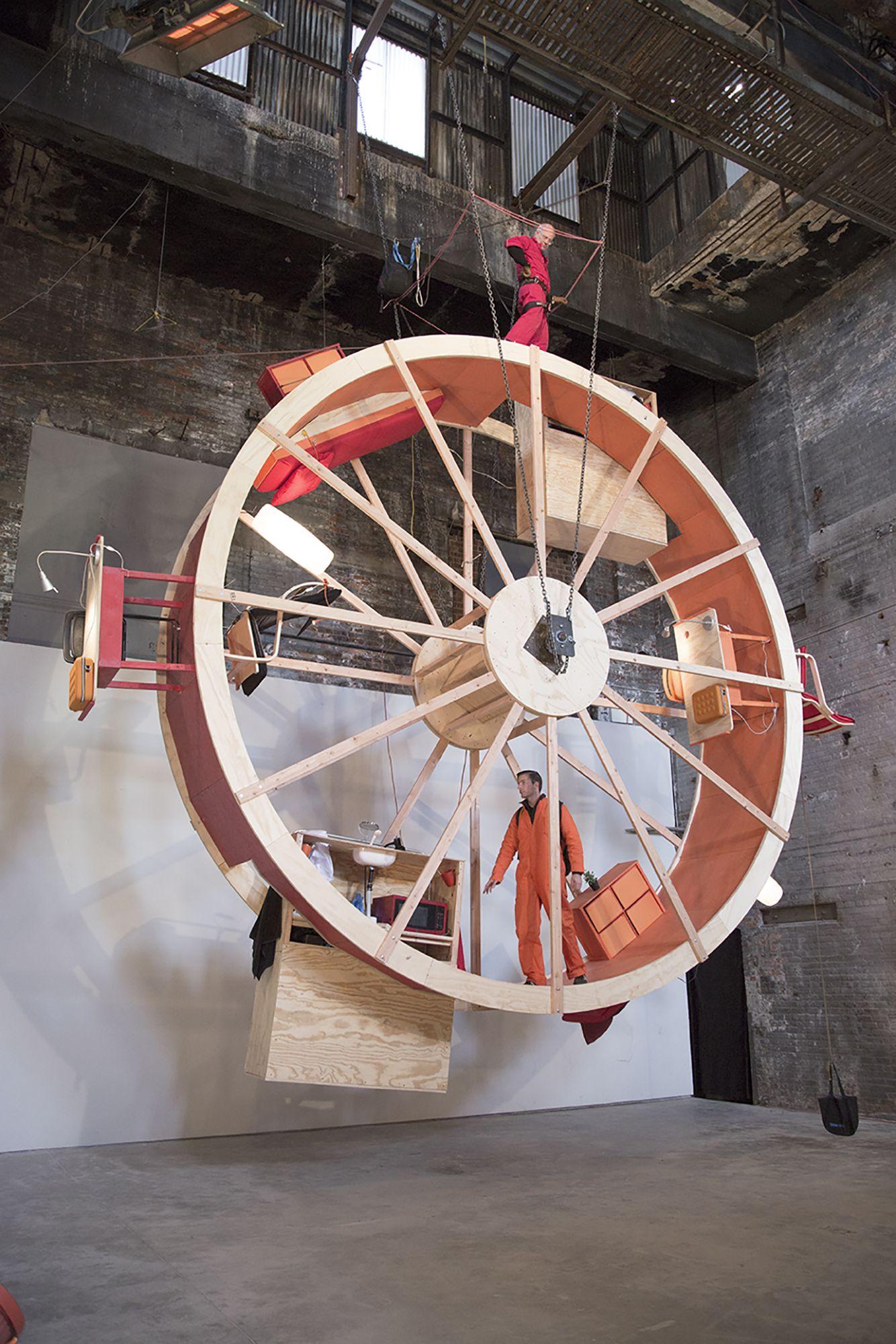In Orbit Wheel Art Hamster Wheel Art And Architecture