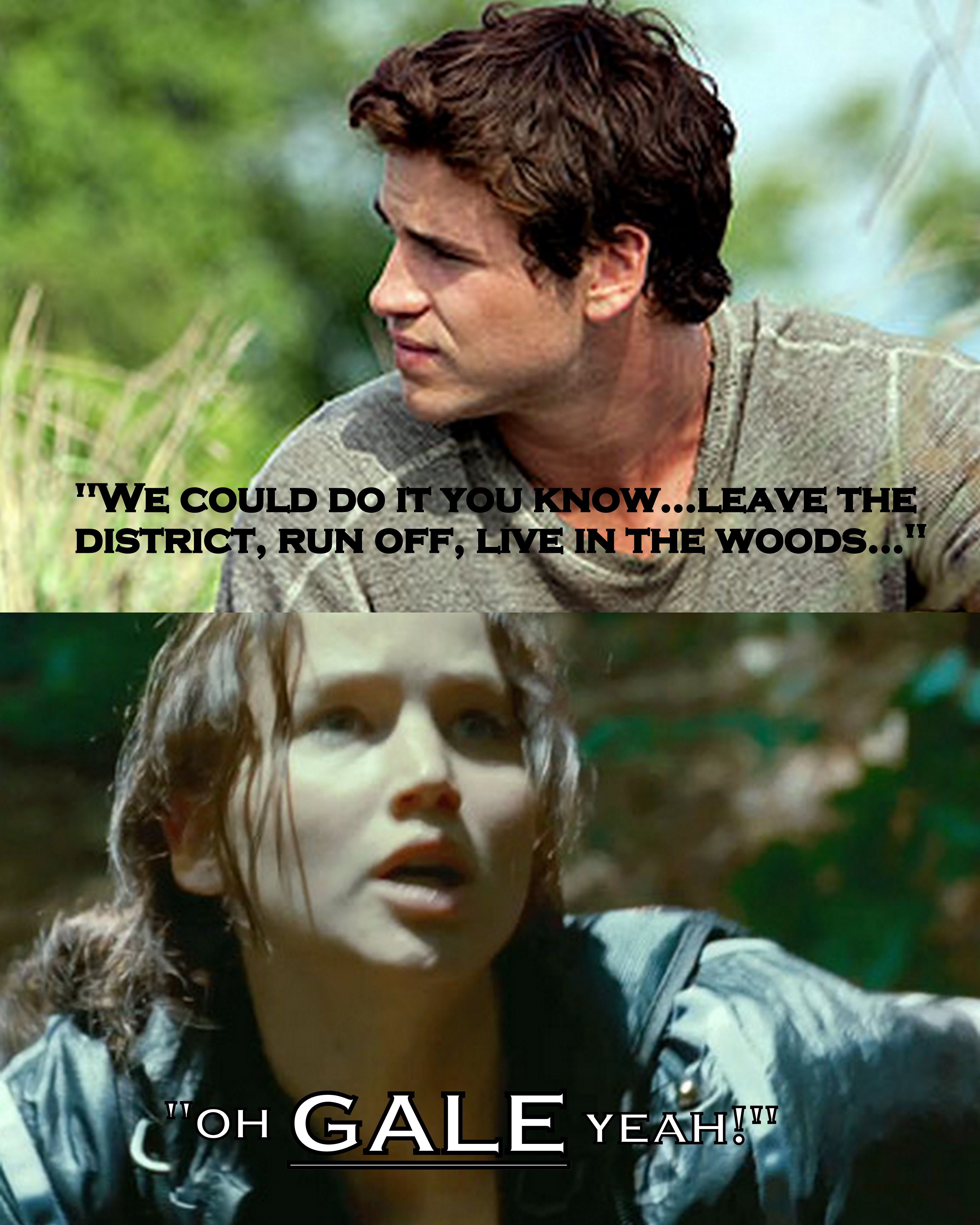 My sister made this one up :) HAHAHA! | Hunger games ...