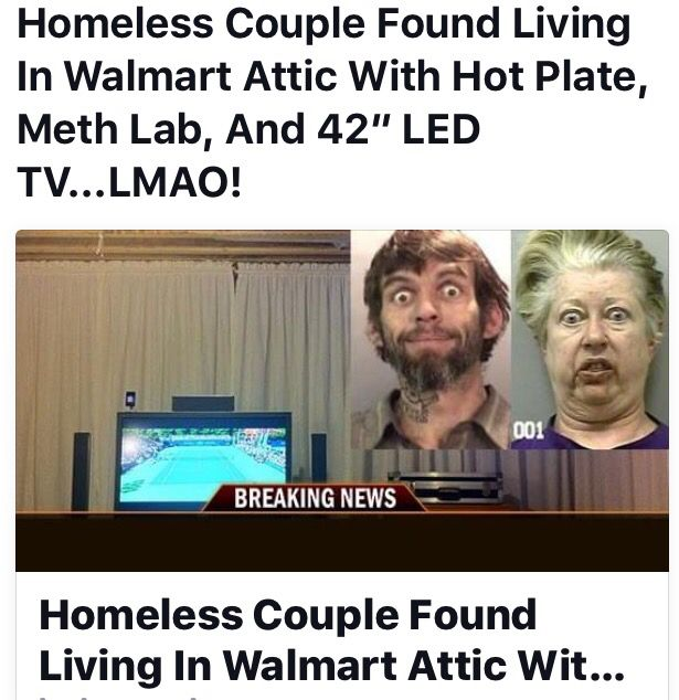 Homeless Couple Living In Walmart Attic Walmart Crazies