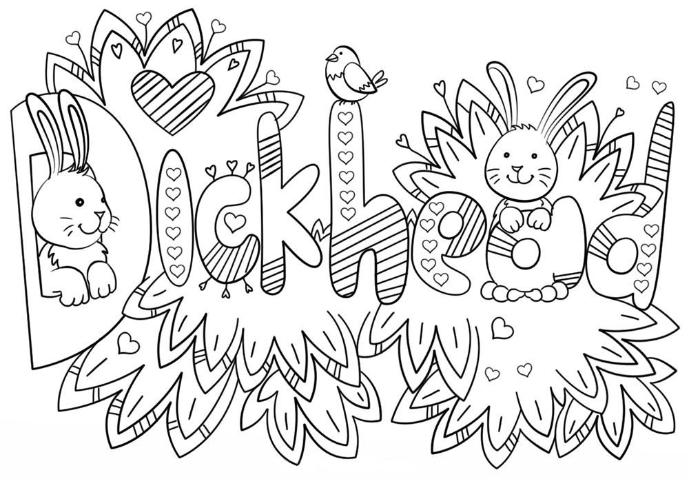 Swear Word Coloring Pages Swear word coloring, Adult