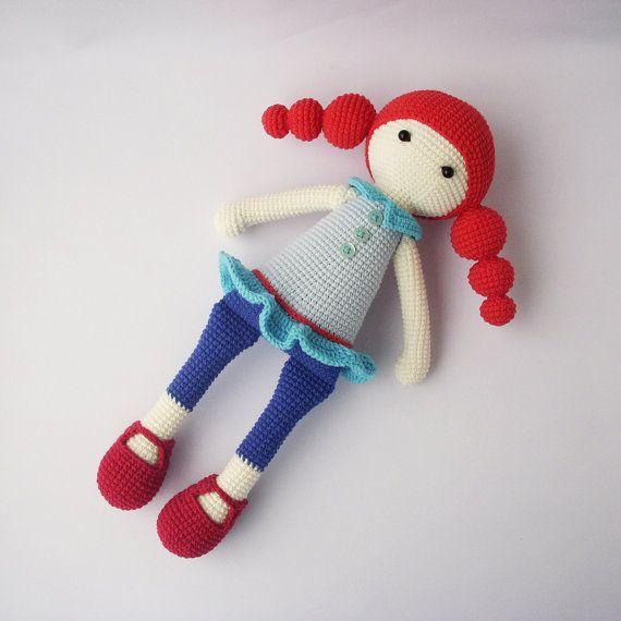 PDF Cute dolls Candice, Marine,Addy, Adeline, Crochet Pattern - Doll ...