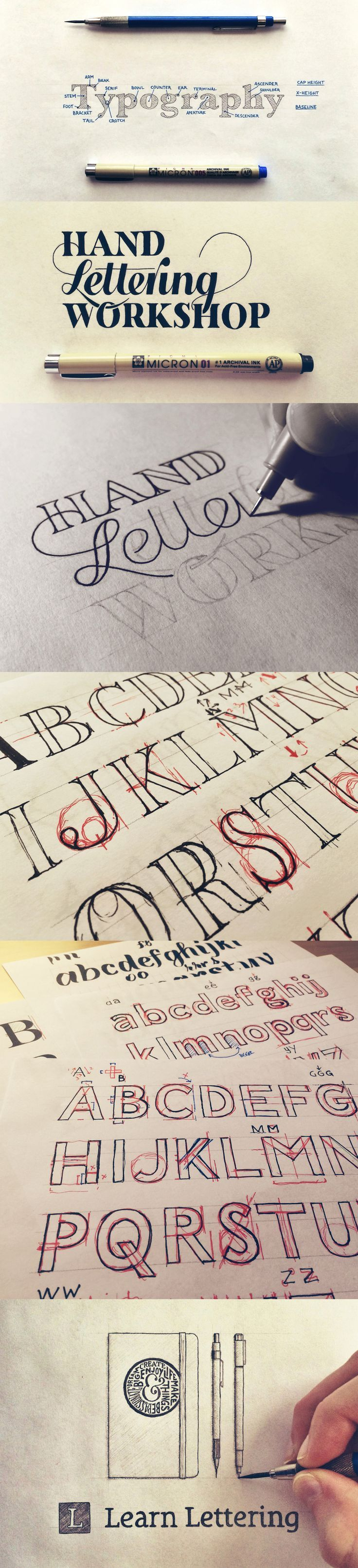 how to learn calligraphy free