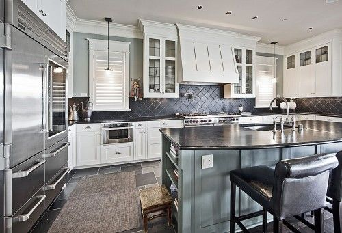 Pro Appliancesnote Backsplash Tilesstainless Steel Could I New Pro Kitchen Design Inspiration Design
