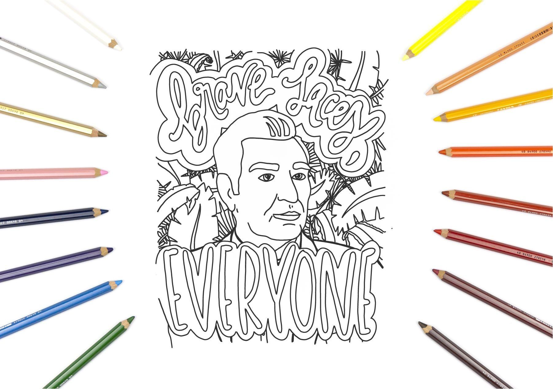15+ The hollow netflix coloring pages free download