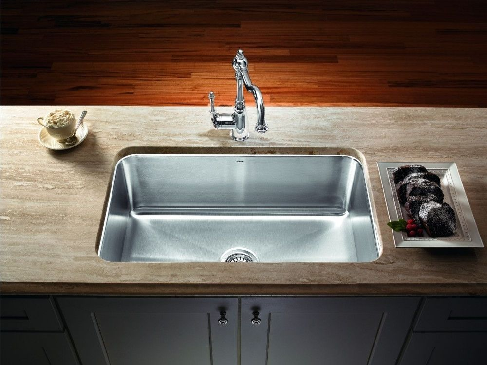 Stainless Undermount Single Bowl Kitchen Sink (With images