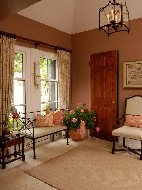 Use Terracotta Color For Astounding Ambiance Traditional
