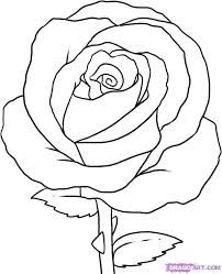 How To Sketch A Rose Easy Google Search Roses Pinterest
