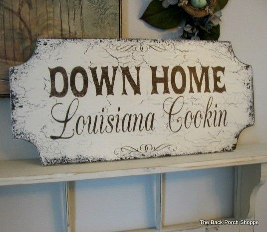Down home cookin with your state shabby cottage french