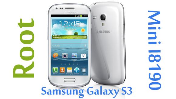 Cómo hacer root al Samsung Galaxy S3 Mini GT-I8190N