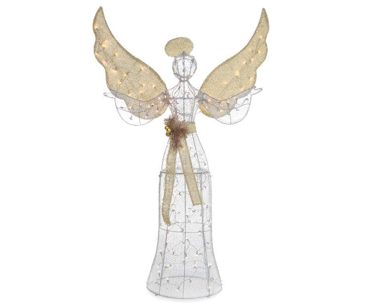 Light-Up Angel, (5\u0027) at Big Lots Christmas Pinterest - outdoor angel christmas decorations