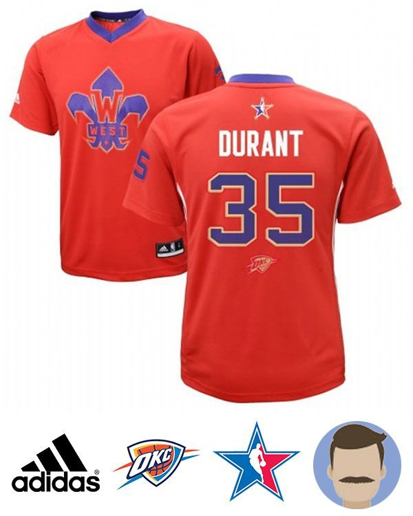 ... Revolution 30 Swingman Road Jersey Blues Mens Kevin Durant 35 Red All-Star  Swingman Jersey 2014 2015 Adidas NBA Oklahoma City Thunder ... c61272e10