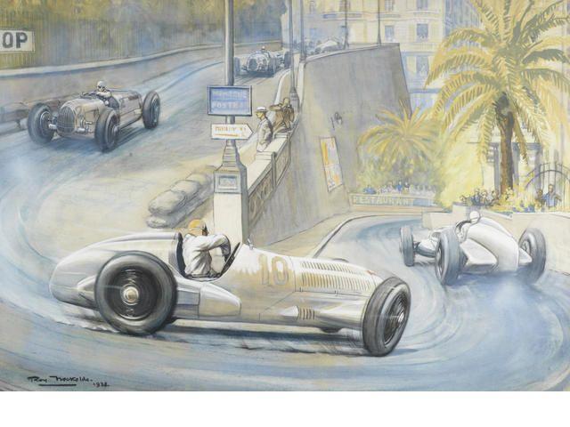 Roy nockolds british 1911 1979 39 1937 monaco grand prix for Roy motors used cars