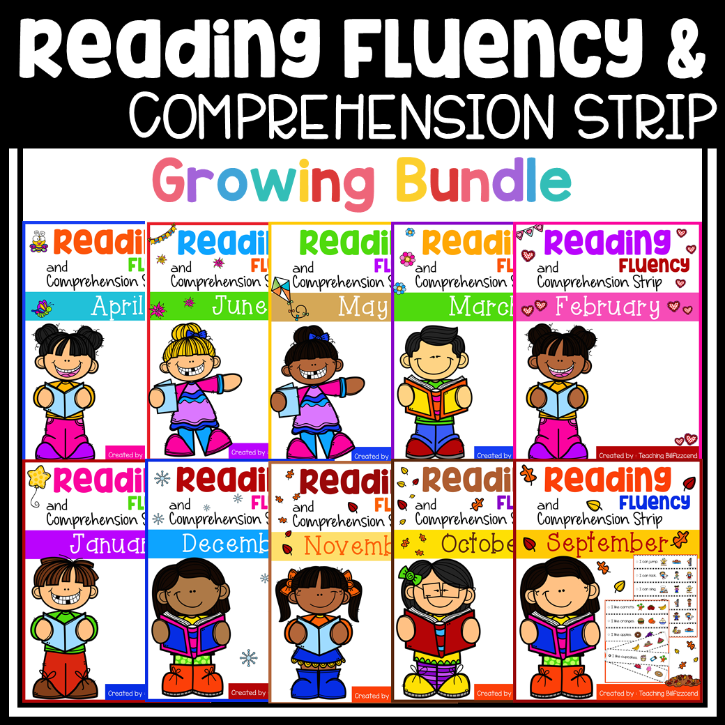 Reading Fluency And Comprehension Sentence Strip The