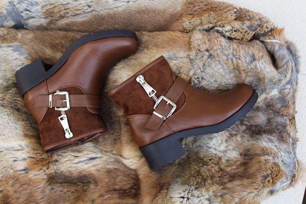 Bottines femme couleur marron Buzzao disponible du 36 au 41 sur www.buzzao .com 2200f0632c50