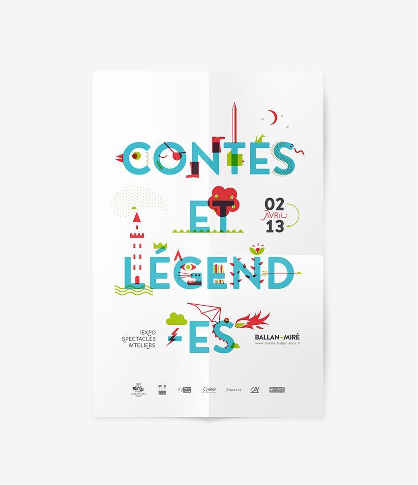 design graphique de l u0026 39 affiche  travail de typographie et d