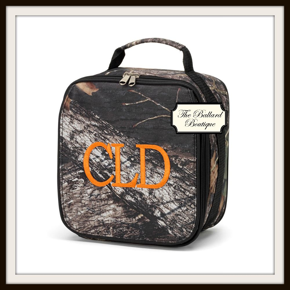 Personalized Camo Lunchbox Camo Lunch Bag Girls Lunch Bags