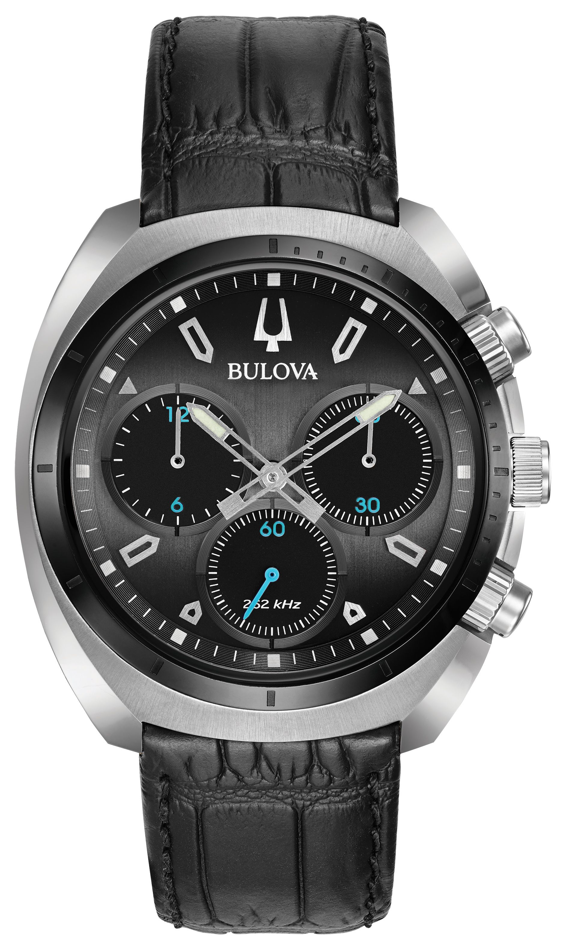 be8d776d2 From the Bulova CURV watch collection, the world's first curved chronograph  movement, featuring a five-hand chronograph in a titanium and stainless  steel ...