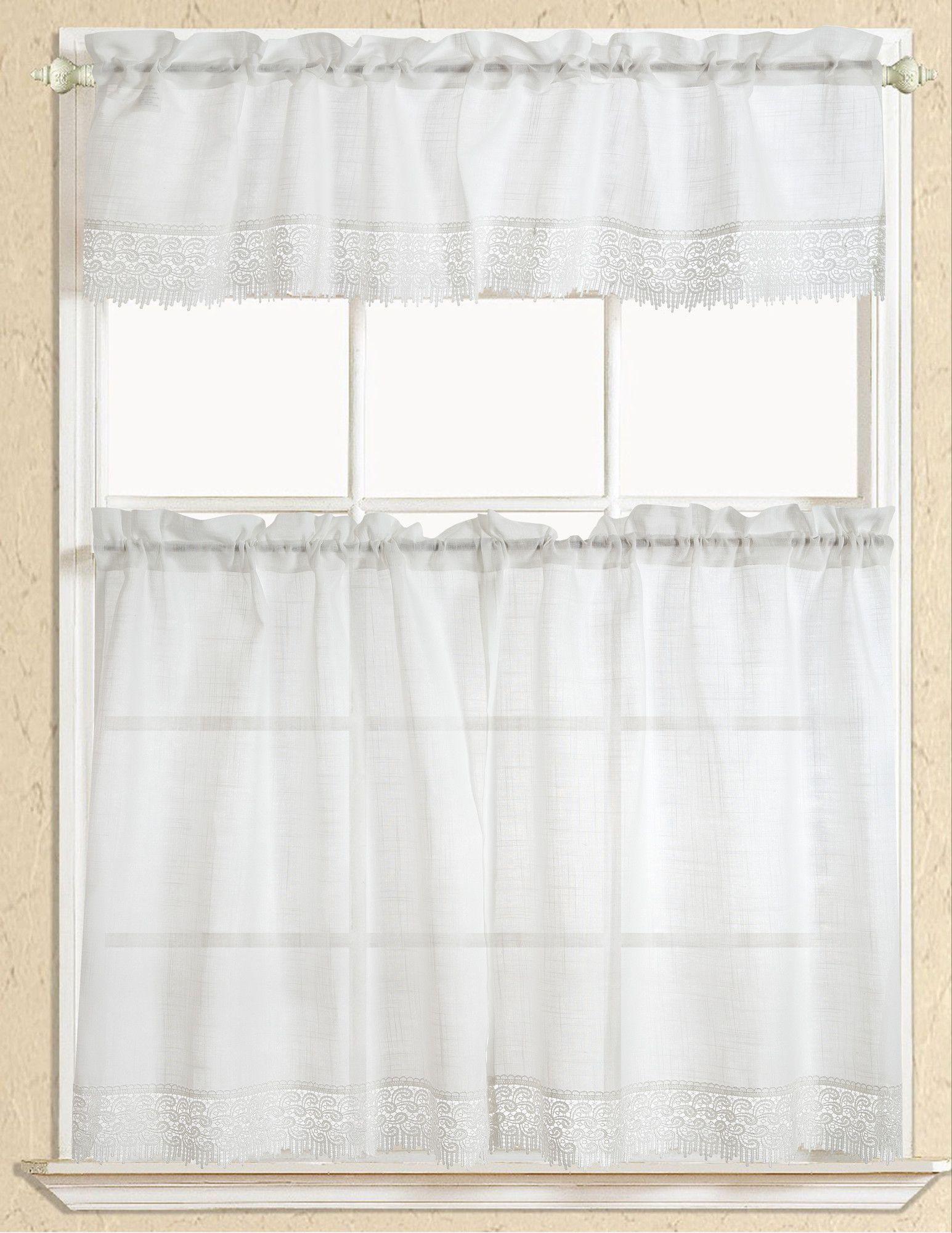 Evie Macrame Kitchen Curtain Products Pinterest Kitchen