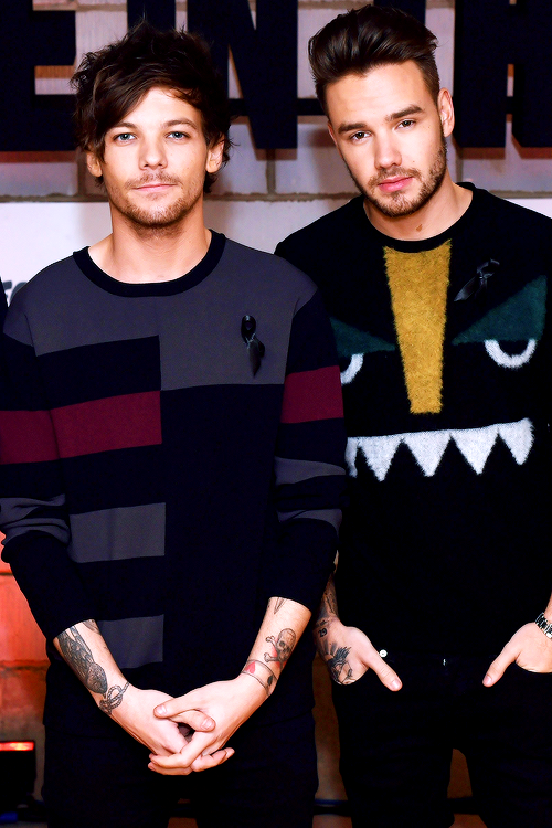 Louis and Liam .. one direction