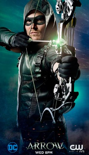 Arrow season 5 DC poster The CW channel … | Arrow | Pinte…