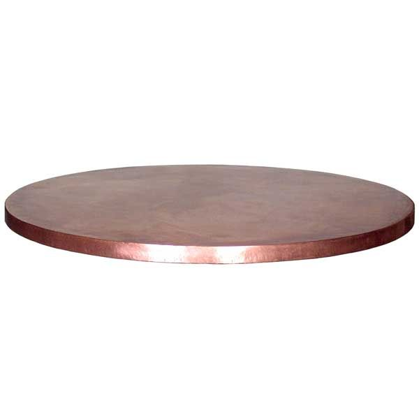CC71550 Copper Table Top Round