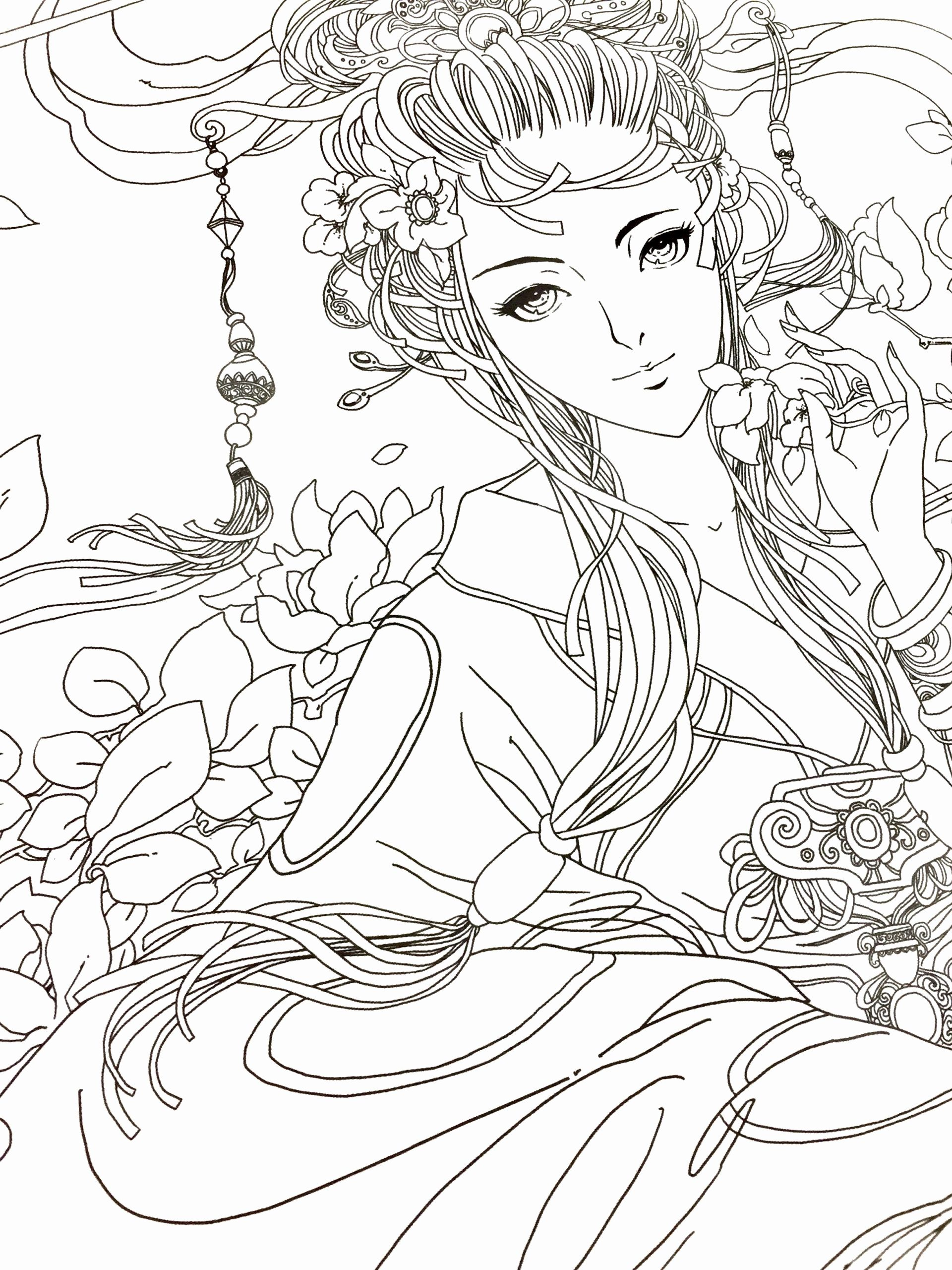 Anime Cat Coloring Pages Elegant Coloring Pages Japanese Anime Coloring Book Cat Girl Free Coloring Pages Coloring Books Colouring Pages