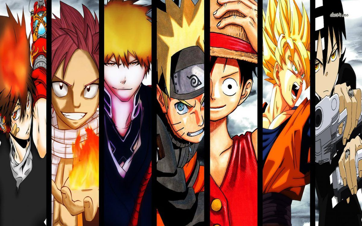 One Piece Fairytail Bleach Naruto All Anime Characters Anime Anime Wallpaper