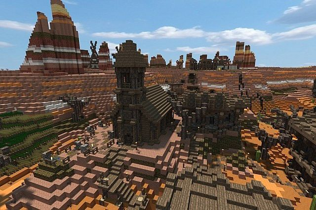 Trestia [Wild West Map] +Download Minecraft Project | Hunter