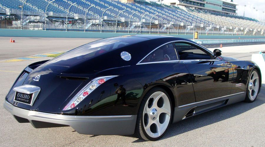 the high-performance maybach exelero show car was unveiled to the