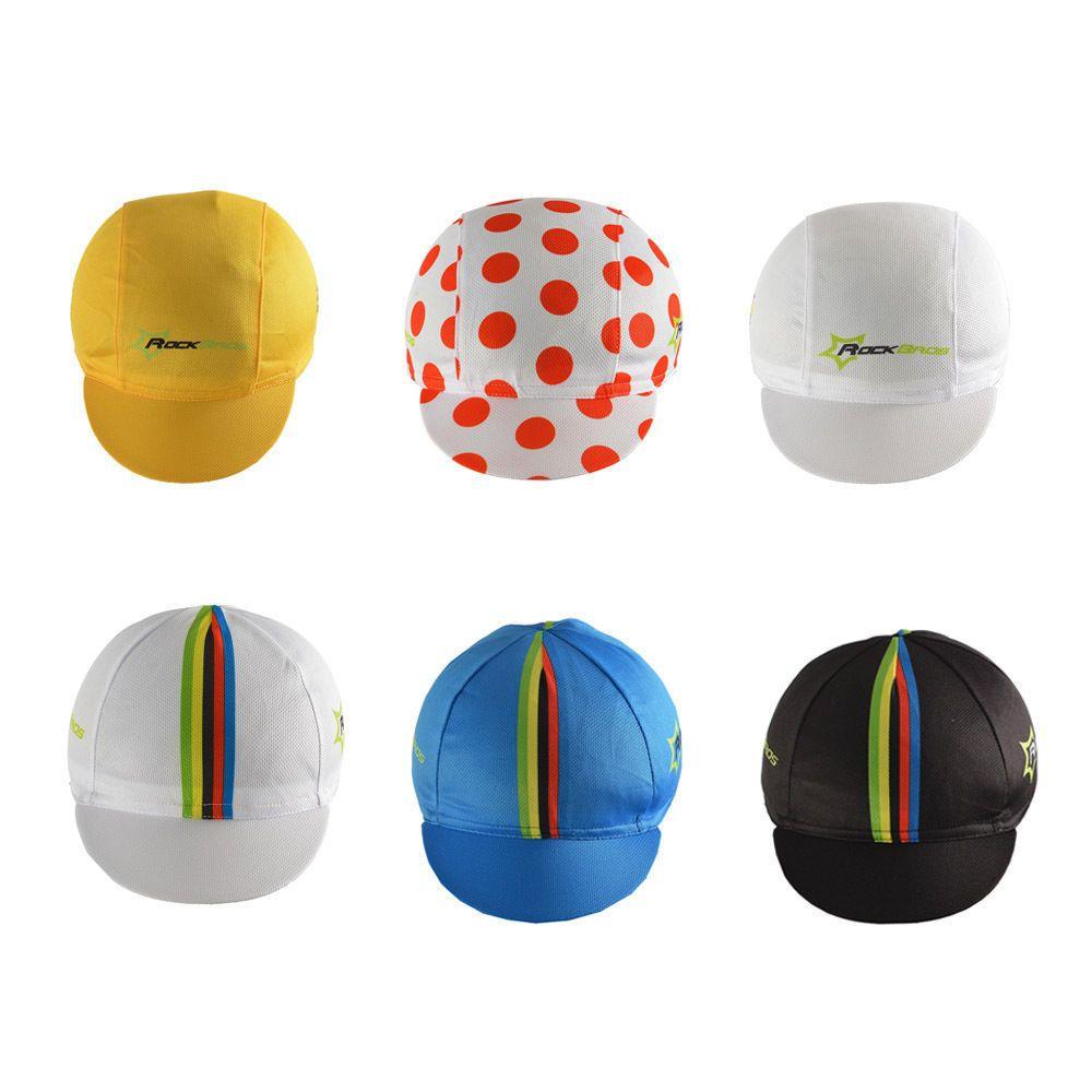 RockBros World Champion Pro Team Cycling Cap Hat Sunhat Suncap Helmet Cap