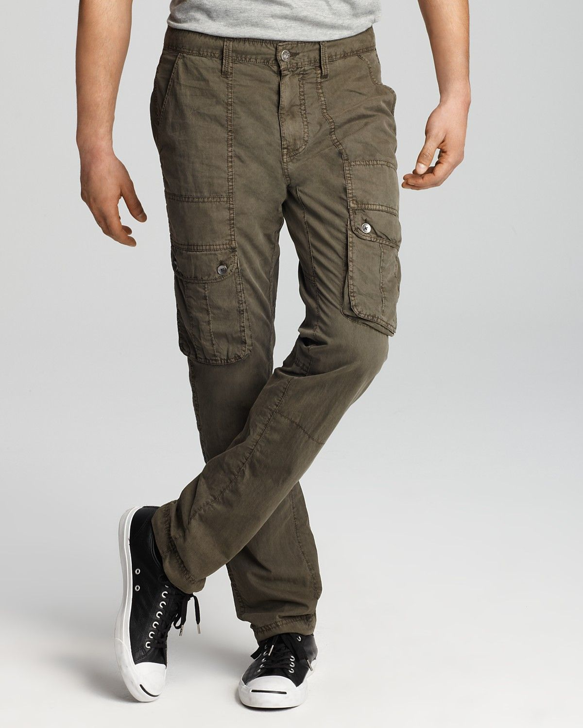 Slim Fit Cargo Pants Mens x0duc52x | cargo pants | Pinterest ...