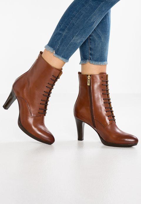 pretty nice 65d26 6ac7d Lace-up ankle boots - cognac @ Zalando.co.uk 🛒 | Shoes in ...