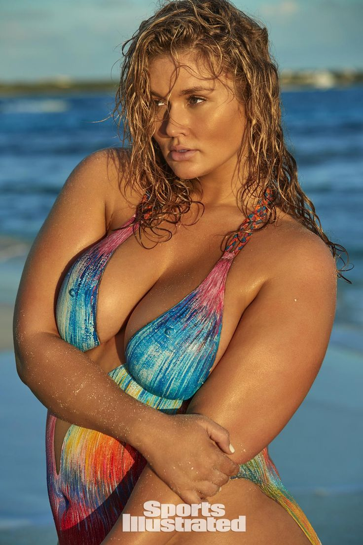 hunter mcgrady, 2017 sports illustrated swimsuit issue star, is the