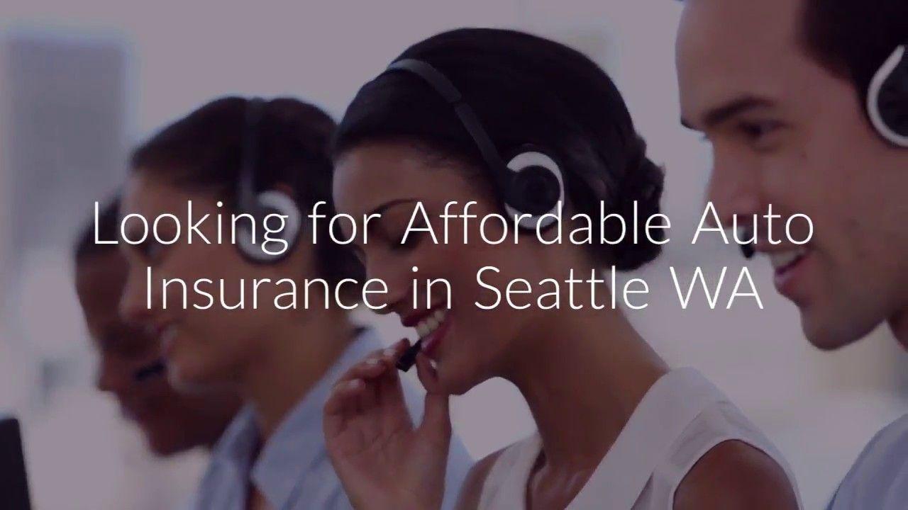 Affordable auto insurance seattle wa car insurance