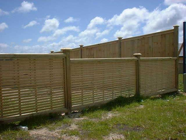 Oriental Screen Fence Fencing Styles Pinterest