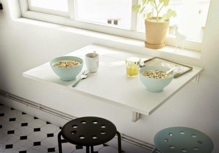 50 μικρά τραπέζια για μικρές κουζίνες!   Φτιάξτο μόνος σου - Κατασκευές DIY - Do it yourself