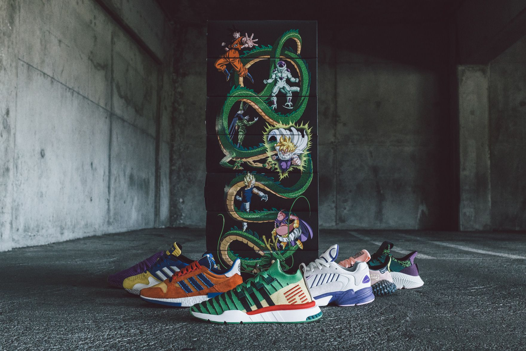 BAIT Shows Off Full 'Dragon Ball Z' x adidas Collection