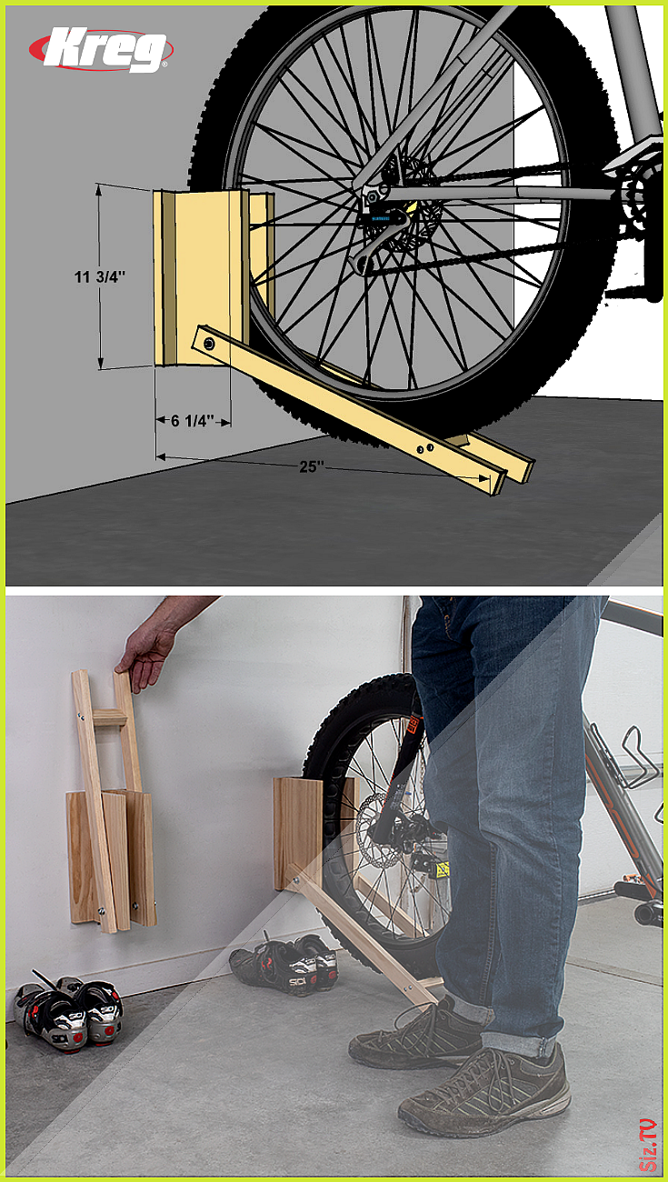 Free Project Plan Bike Racks Di 2020 Rak Sepeda Rak Dekorasi